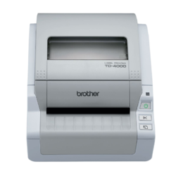 BROTHER TD-4000 + Power Banka 8000