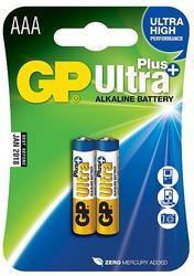 GP AAA Ultra Plus, alkalická LR03 - 2 ks
