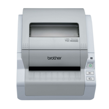 BROTHER TD-4000 + Power Banka 10000 - 1
