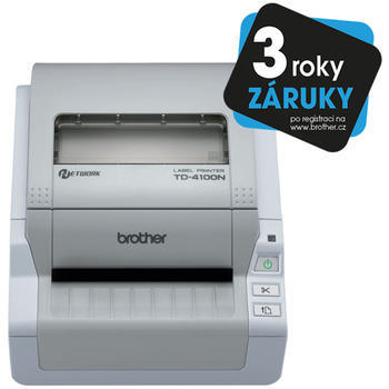BROTHER TD-4100N + Power Banka 5000 - 1