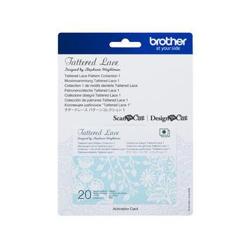 BROTHER Karta 01 - krajkové vzory