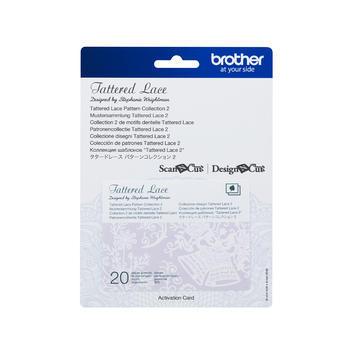 BROTHER Karta 02 - krajkové vzory