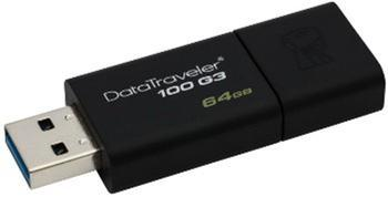 64GB Kingston Data Traveller 100 USB 3.0 - 2