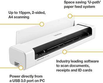 BROTHER Mobilní skener DS-740D - 5