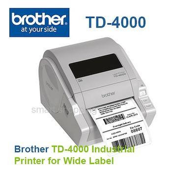 BROTHER TD-4000 + Power Banka 10000 - 7